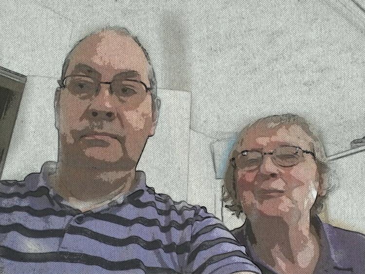 Carol and I