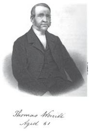 Thomas Worrill (1798-1873) 1851 Earl Shilton Minister