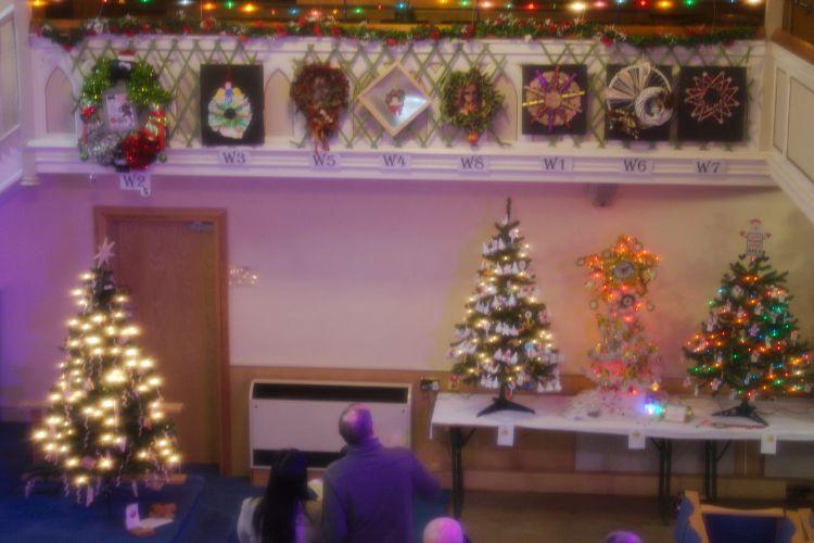 Row of Wreaths
